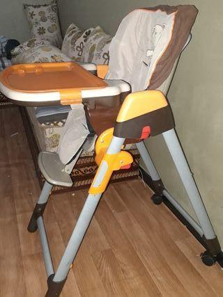 sillón de comida de bebes