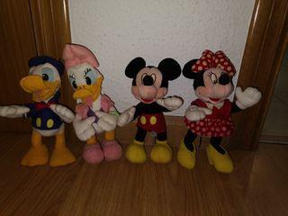 Colección 4 muñecos Disney