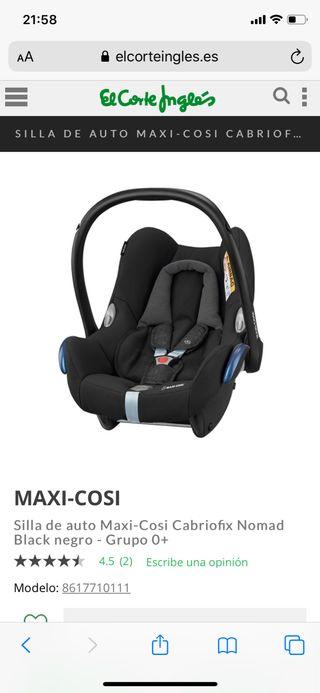 Maxicosi Cabriofix nueva