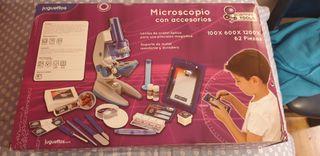 MICROSCOPIO CON ACCESORIOS -JUGETTOS
