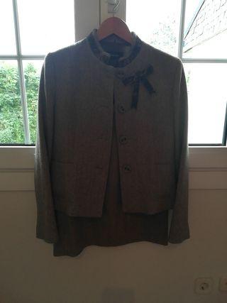 Traje de chaqueta con falda Tintoretto