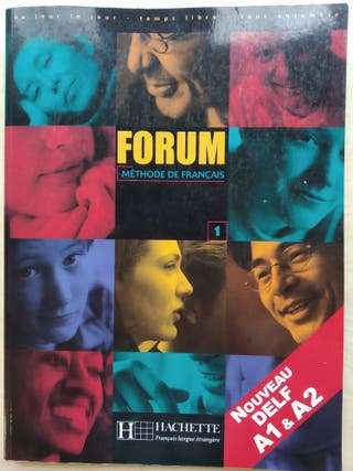 Libro francés Forum 1 Hachette DELF A1/A2