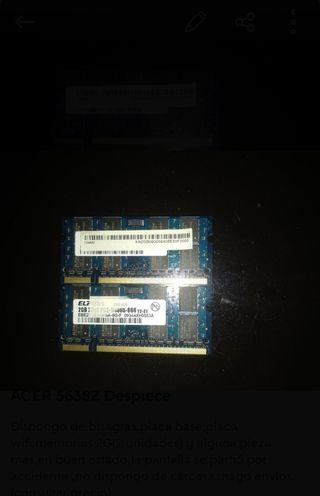 Memoria Portátil 2G