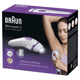Braun Silk-expert 3 IPL BD 3005 - Kit con depilado