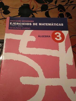 Cuadernillo de álgebra de matematicas2ESO
