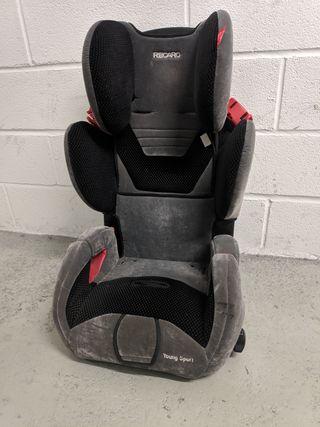 silla de coche recaro