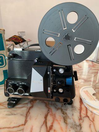 Proyector 8 mm.