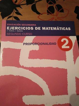 Cuadernillo de proporcionalidad de matematicas2ESO