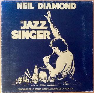 "NEIL DIAMOND ""BSO THE JAZZ SINGER"" LP"