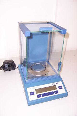 Balanza de precisión Scaltec sba31