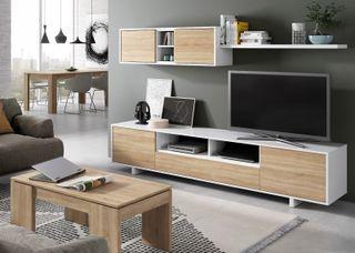 Mueble completo de salón comedor para televisión