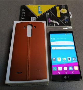 LG G4 cuero