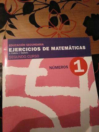 Cuadernillo de numeros de matematicas 2ESO