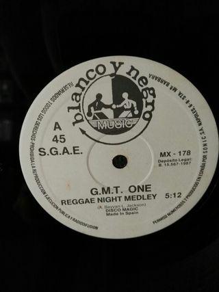 G.M.T. ONE '' Rappin' Reggae Night ''