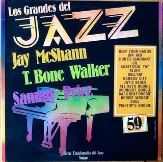 "T. BONE WALKER + J. McSHANN ""GRANDES DEL JAZZ"" LP"
