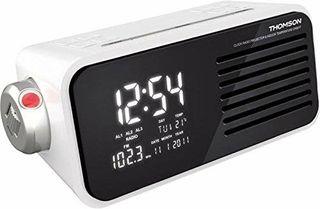 Radio Reloj proyector Thomson