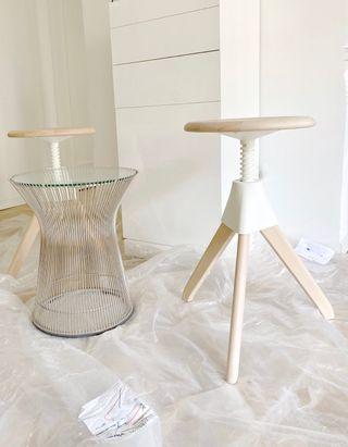 4 taburetes, banqueta sillas diseño Magis Italia