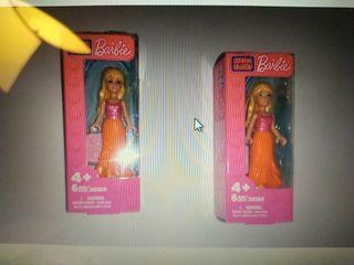 Mini muñeca Barbie Mega Bloks