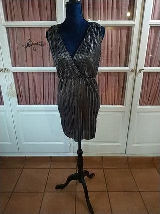 vestido de fiesta talla s etiqueta
