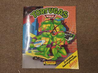 Álbum Tortugas Ninja Panini incompleto