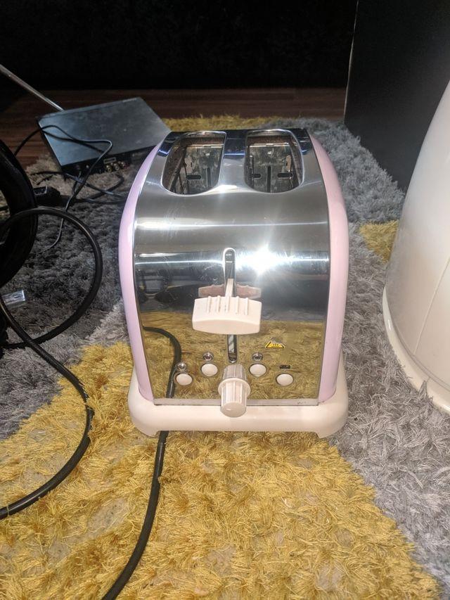 pink cookworks toaster