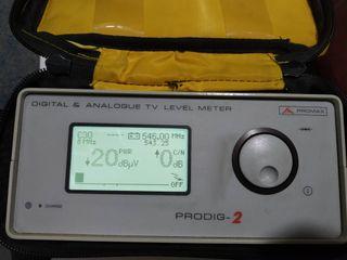 Alquiler medidor de nivel TV digital y analogica