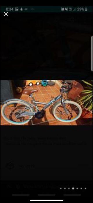 Bici de niña pulgadas 16