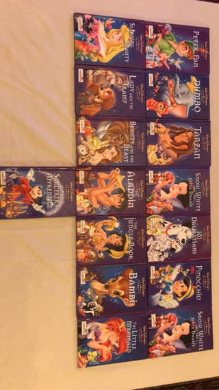 15 Walt Disney classics ladybird book