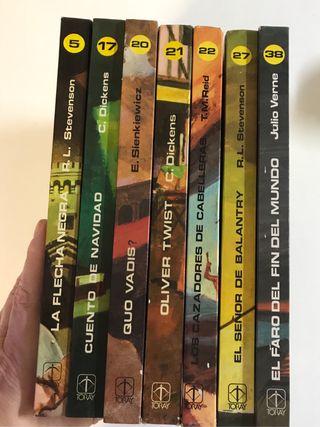Colección Novelas Famosas, edición Juvenil
