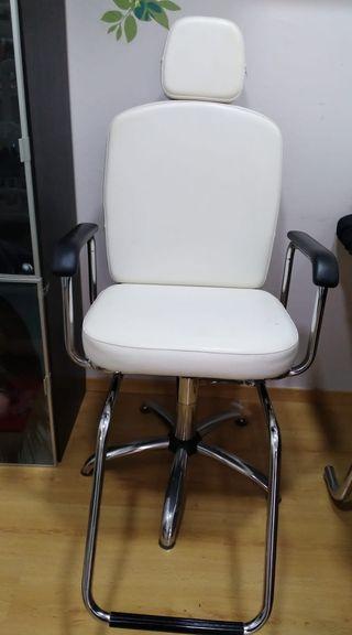 sillón de maquillaje
