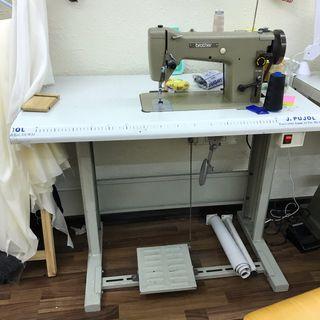 Maquina de coser recta