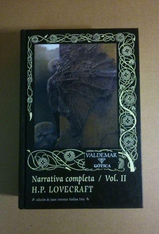 Lovecraft Narrativa Completa Vol II Valdemar