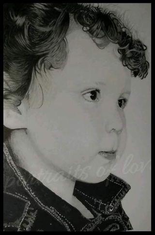 hand drawn portraits
