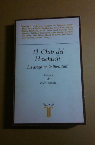 El club del Haschisch: la droga en la literatura