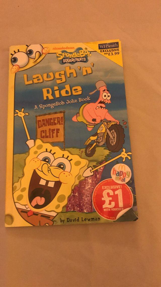 Laugh and ride joke book