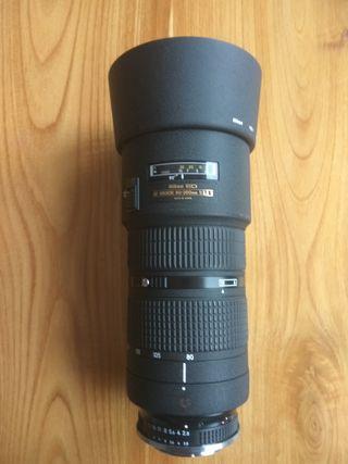 Objetivo Zoom Nikon nikkor ED AF 80-200 2.8 D