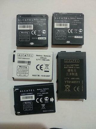 regalo baterías para moviles alcatel