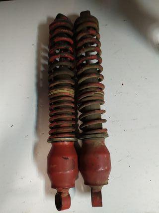 Amortiguadores moto antiguos Telesco