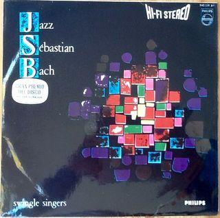 """SWINGLE SINGERS """"JAZZ SEBASTIAN BACH"""" LP"""