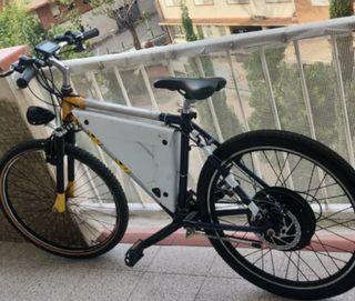 Bici electrica casera estilo VICESAT