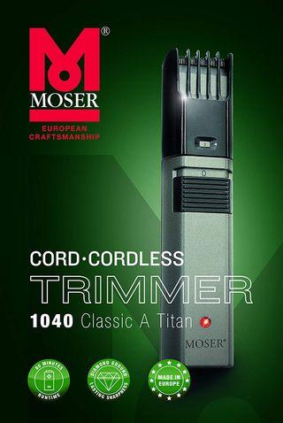 Moser 1040-0460 Classic A Titan - Cortapelos