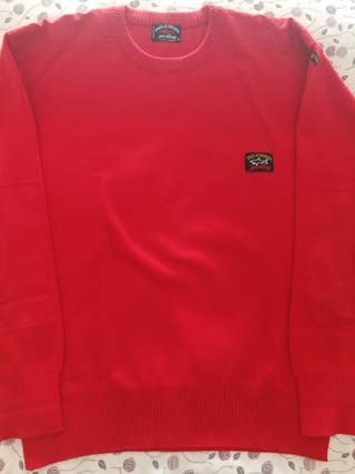 Jersey unisex. Marca: Paul & Shark. Color: Rojo.