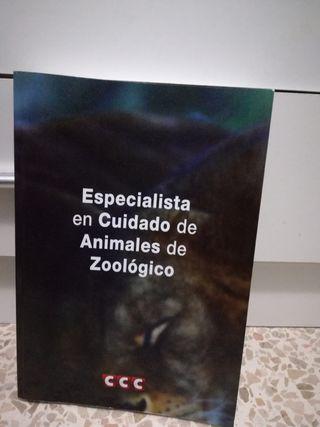 Libro Cuidado de Animales en Zoologicos
