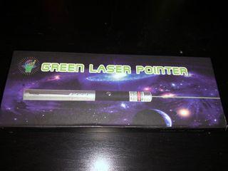 Puntero láser verde