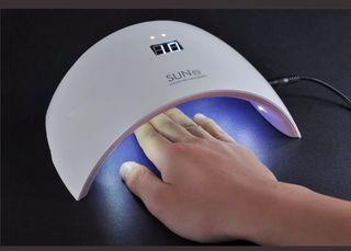 Lampara 24W Ultravioleta UV Secador de Uñas Gel pa
