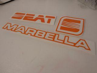 pack adhesivos Seat Marbella