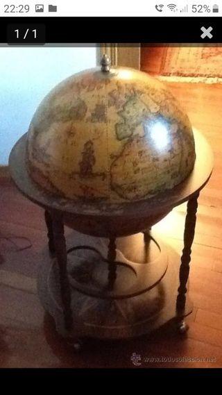 Bola del mundo mueble