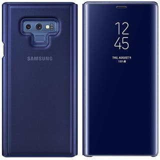 Note 9 Clear View Stand Cover (Dukeblue)