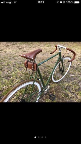 Bicicleta fixie vintage