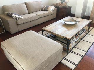 Sofa KIVIK + Puff - beige de IKEA